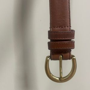 "VTG COACH brown belt. 34"". In great condition, has been worn."
